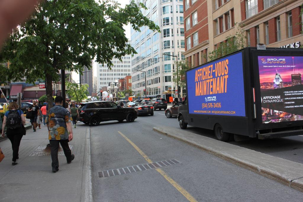 Publicité mobile   Camion Publicitaire   Vente Video Wall  Groupe Nahno